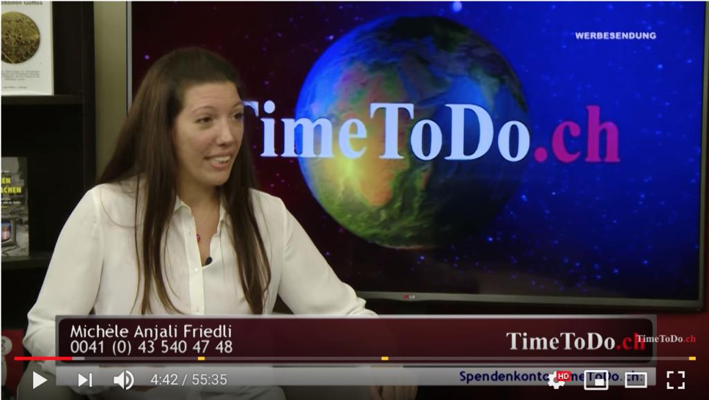 Anjali Friedli bei Time To Do über ihr Buch Mut im Bauch