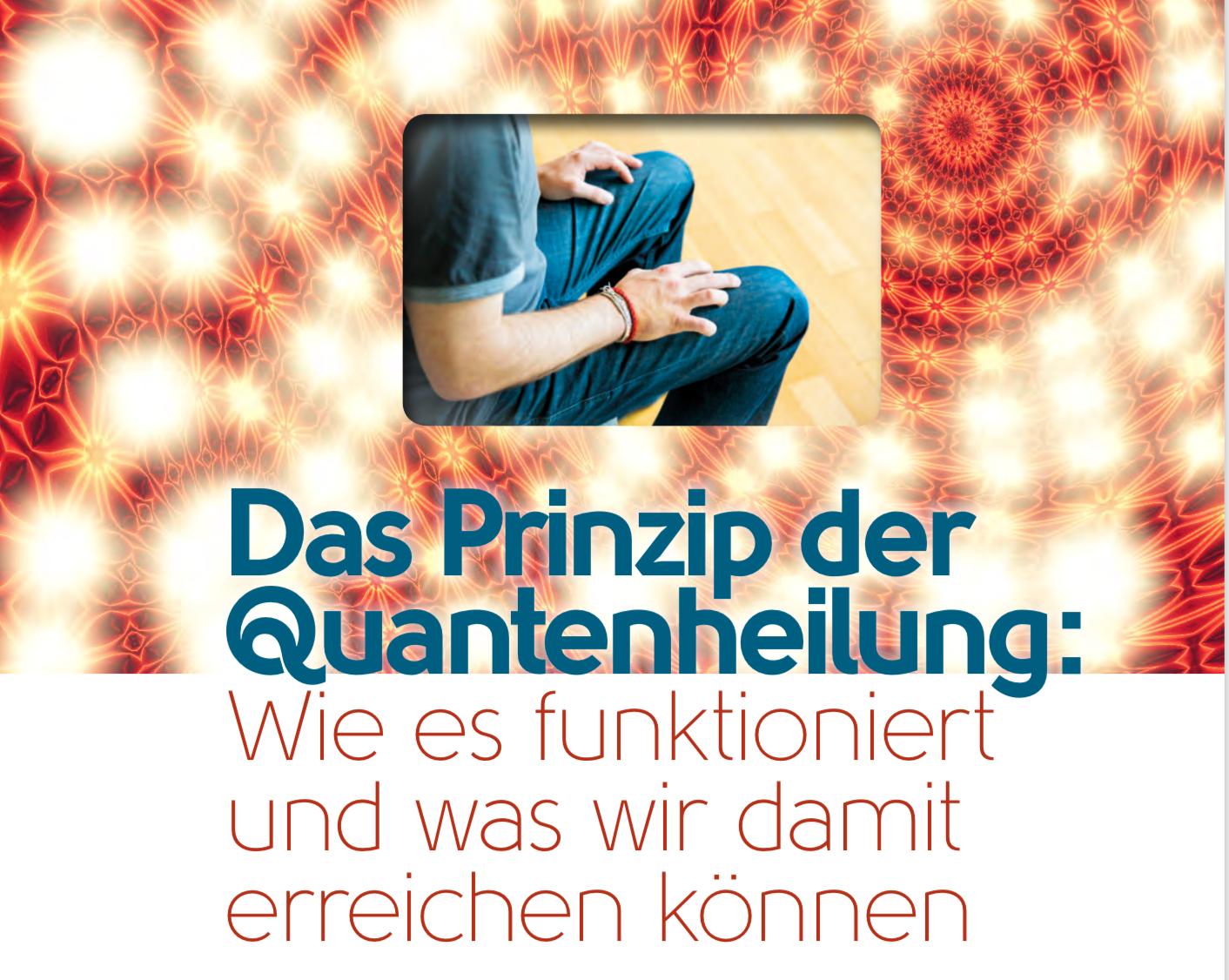 Das Prinzip der Quantenheilung