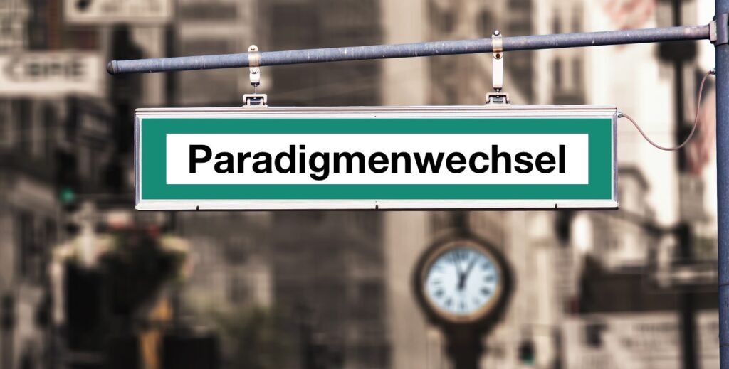 Was ist ein Paradigmenwechsel? Kurz erklärt