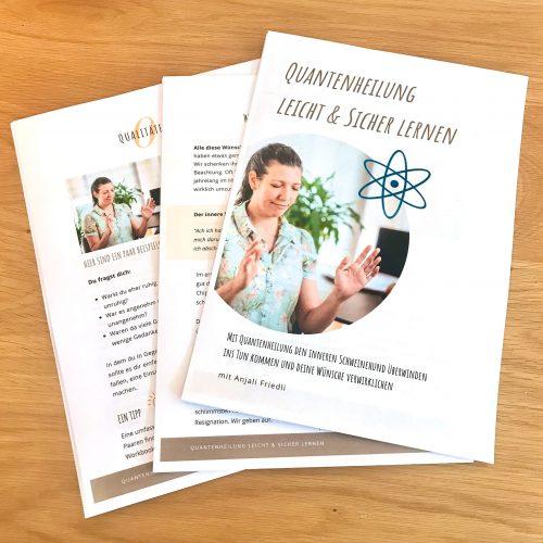 Workbook - Quantenheilung lernen
